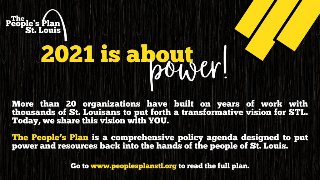 2021: People's Plan St. Louis
