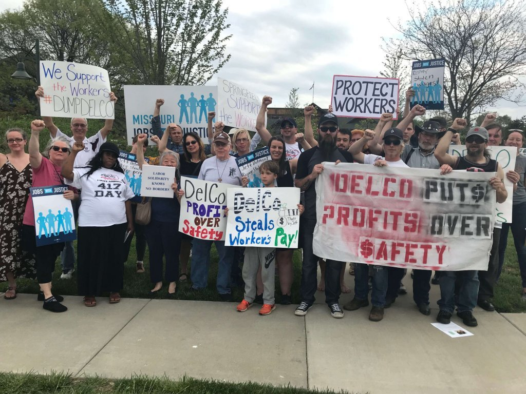 Group Protest of Delco