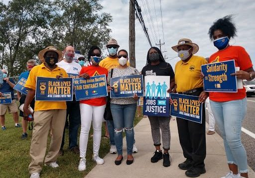 STL - Solidarity - Black Workers Matter - Rally Signs