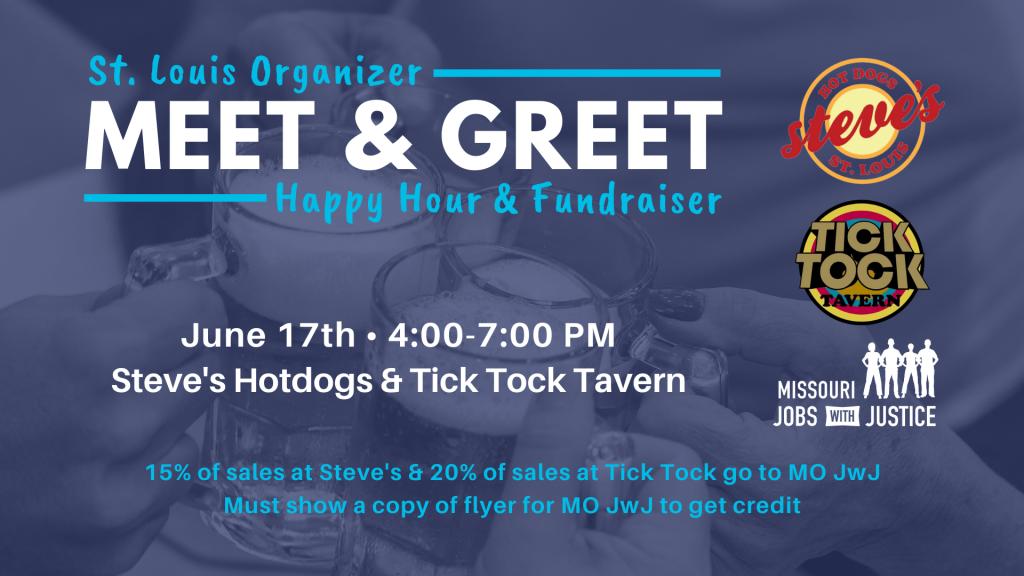 2021 STL Meet & Greet Fundraiser FB graphic