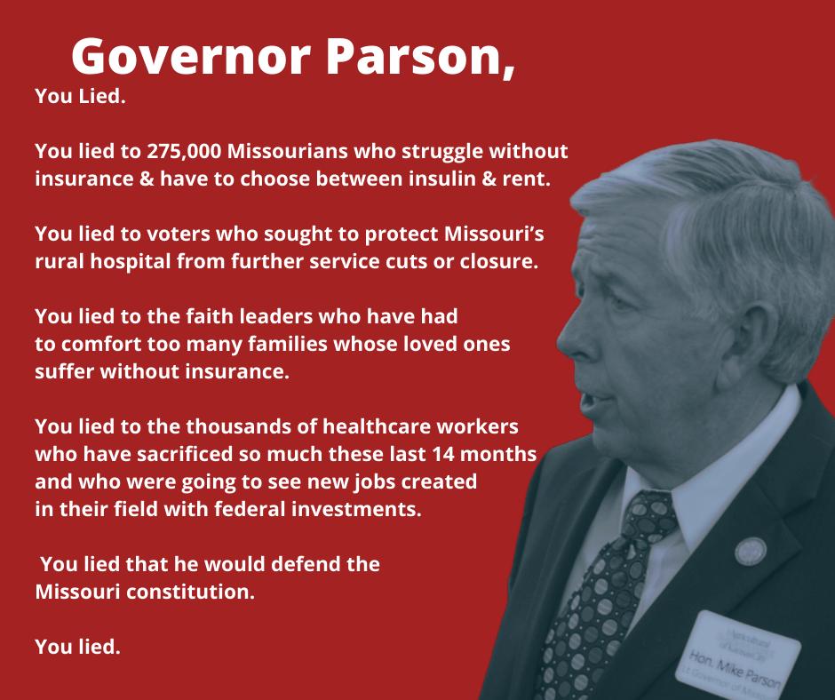 Parson is a liar