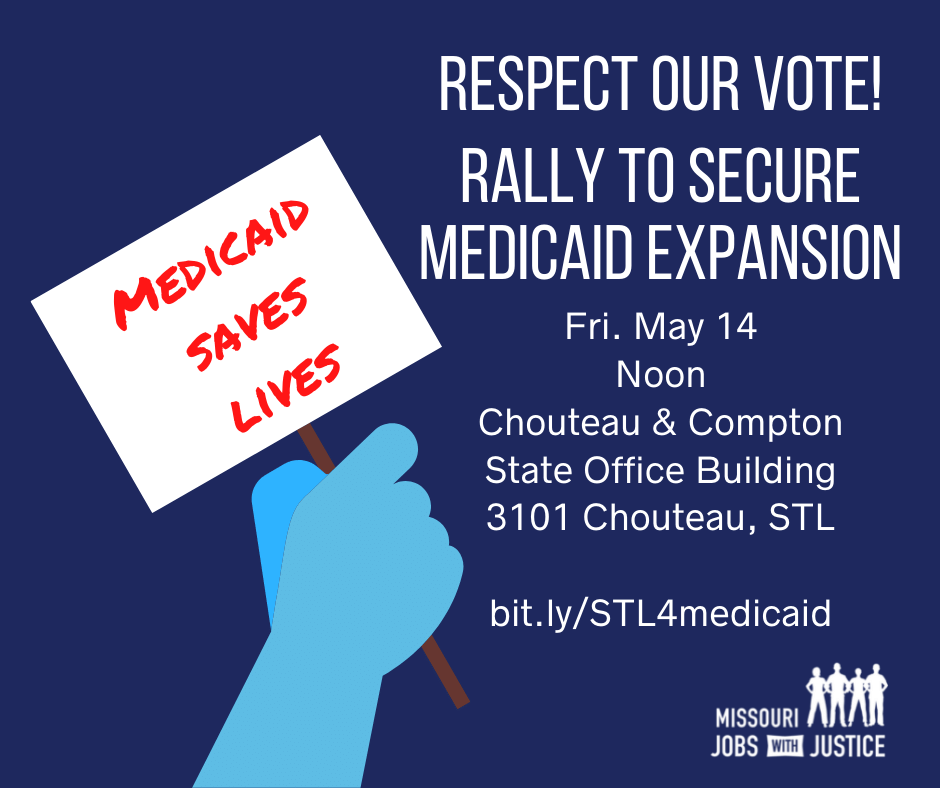 STL rally for Medicaid Expansion